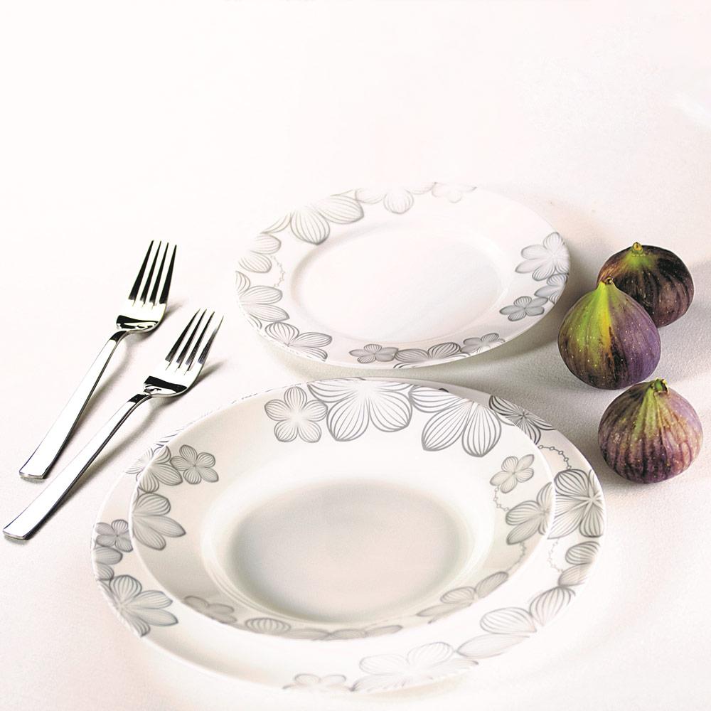 Komplet obiadowy Dream Flower 18-elementowy AMBITION