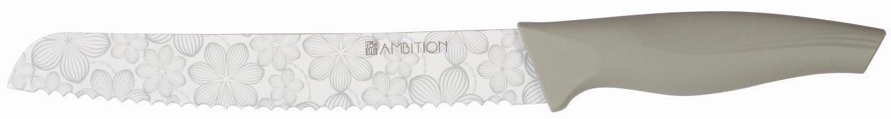 Nóż do chleba z powłoką non-stick Dream Flower 20 cm AMBITION