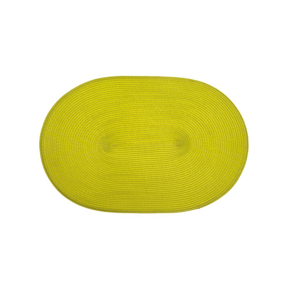 Mata stołowa Fusion Fresh Green 45 x 30 cm owalna AMBITION