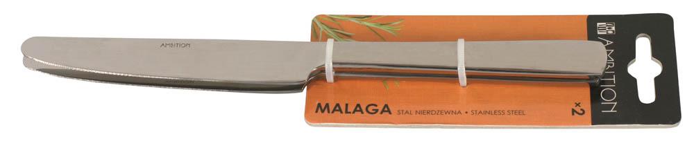 Noże stołowe Malaga 22,5 cm 2 szt. AMBITION