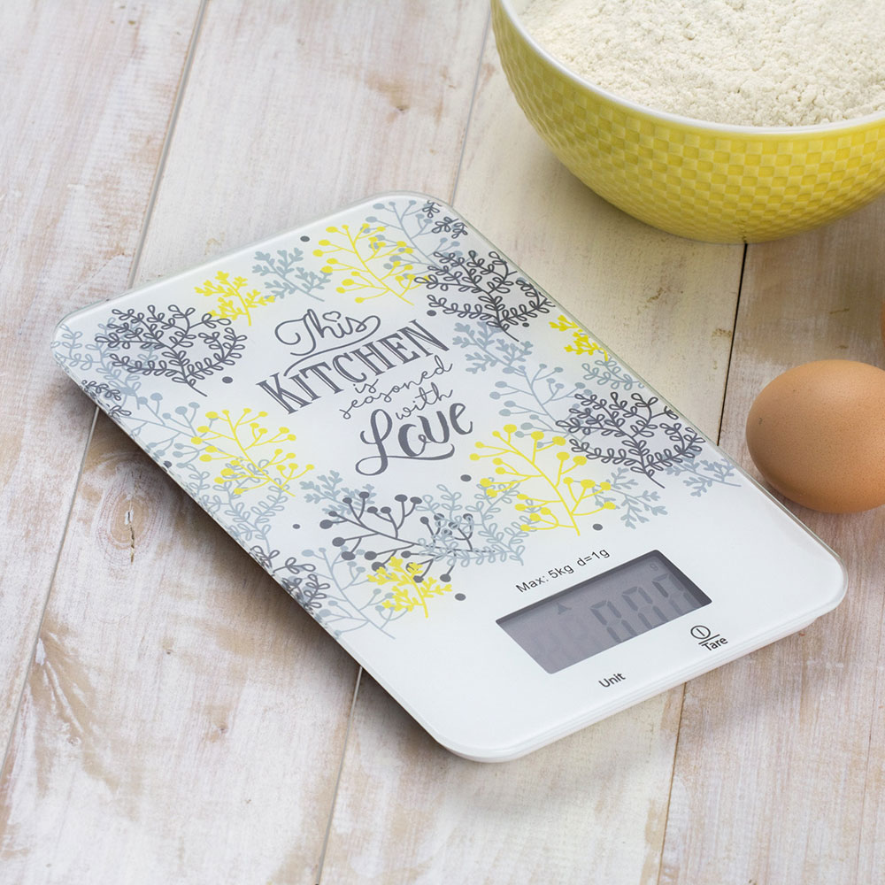 Waga kuchenna Nordic Gałązki 5 kg AMBITION