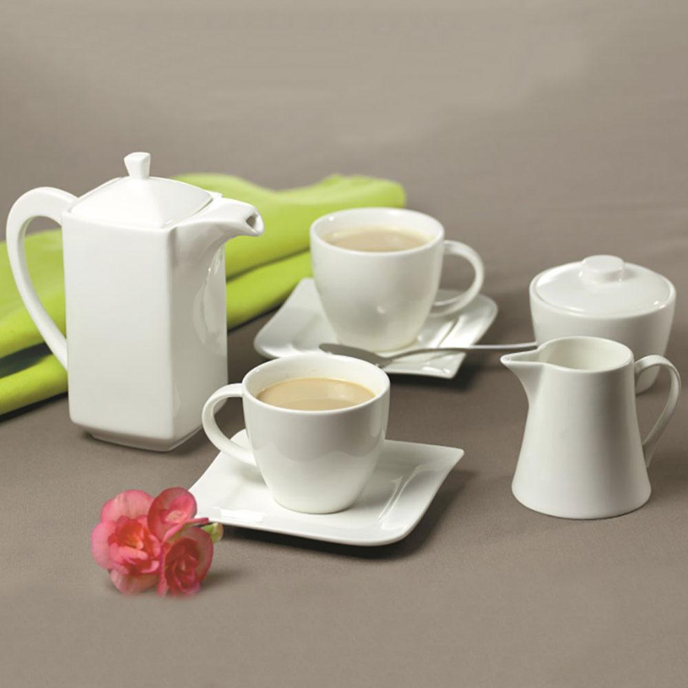 Komplet kawowy Fala 220 ml 29-elementowy AMBITION