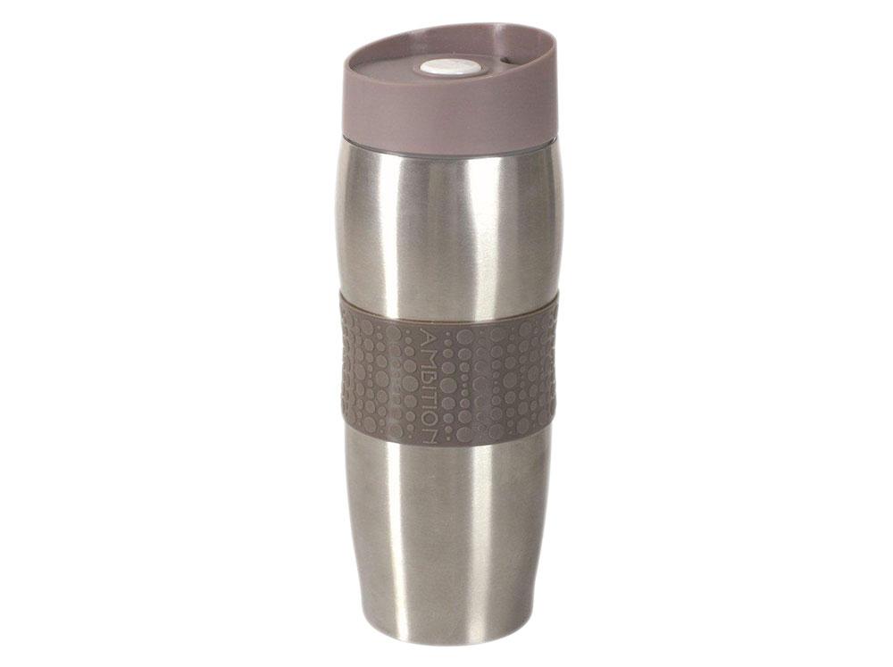 Kubek termiczny z podwójną ścianką Fusion Fresh Taupe 380 ml AMBITION