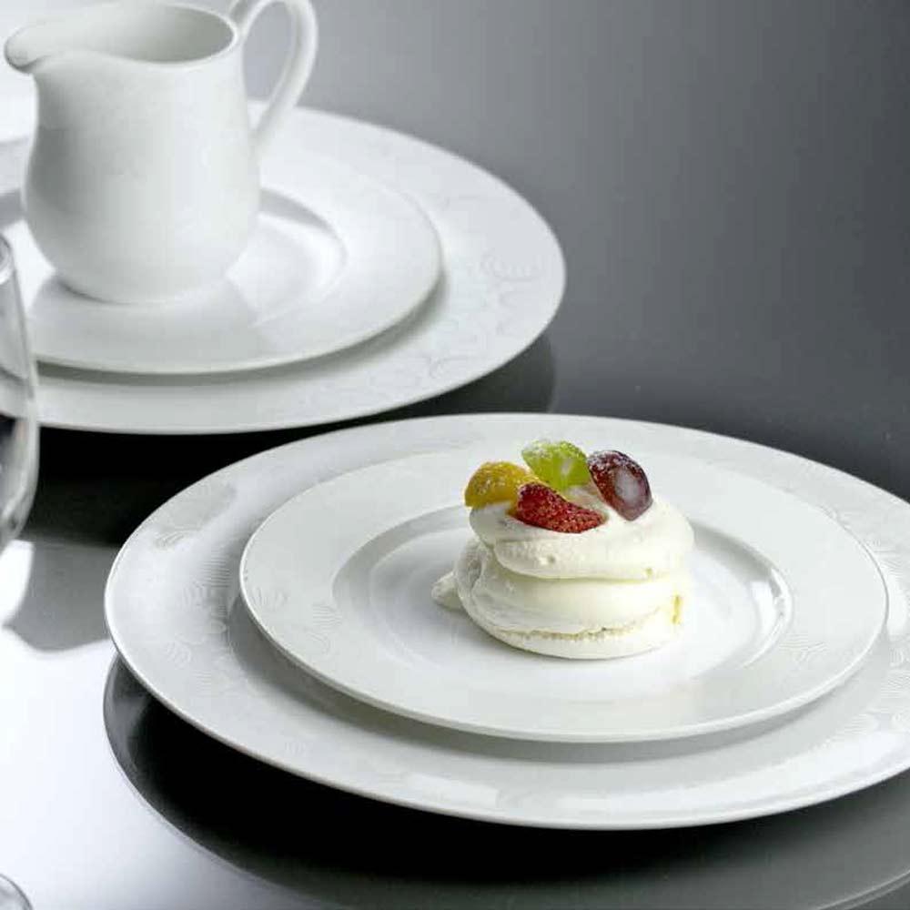 Komplet obiadowy Dream Flower light silver 18-elementowy AMBITION