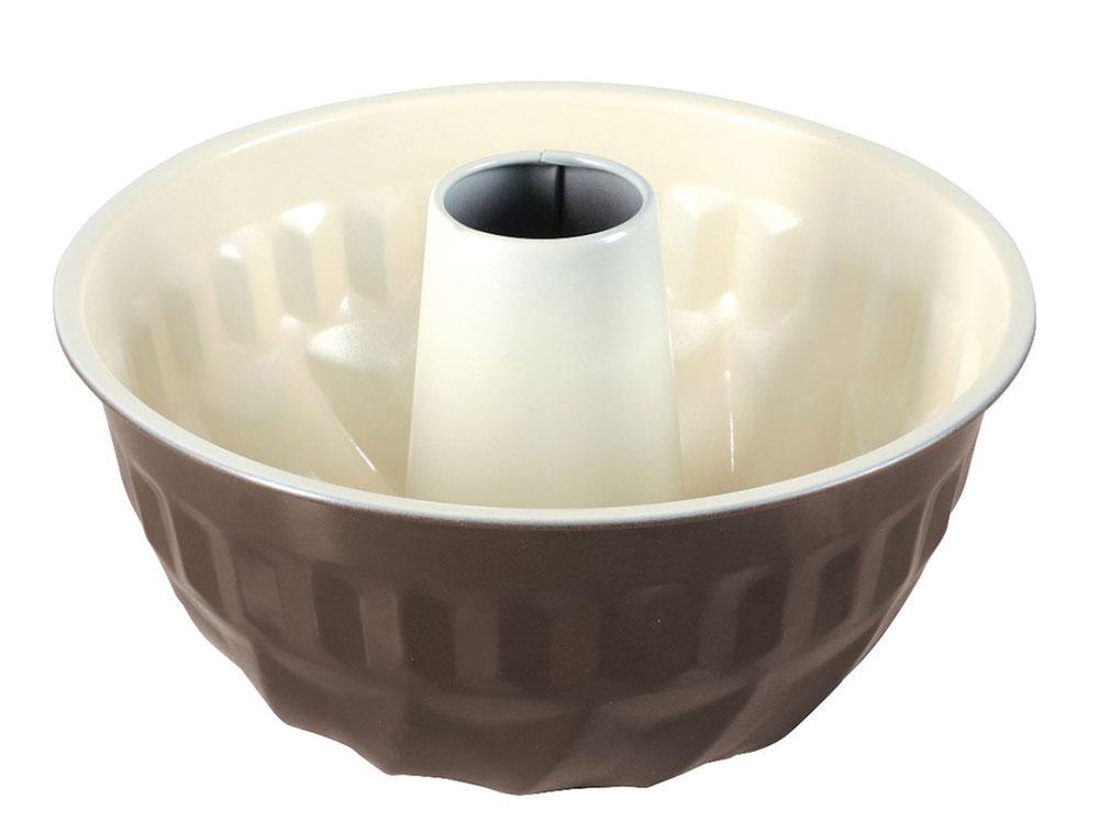 Forma do babki z powłoką ceramiczną Fusion Fresh 22 cm brązowa AMBITION