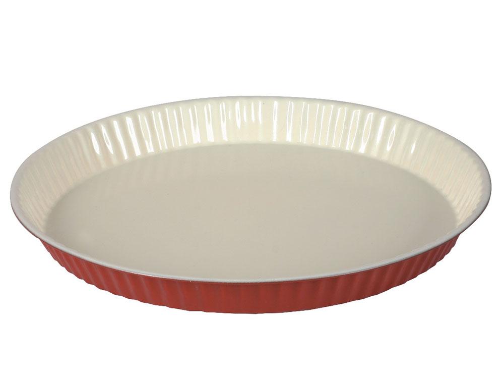 Forma do tarty z powłoką ceramiczną Fusion Fresh 31 cm czerwona AMBITION