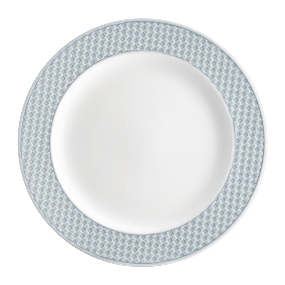Talerz obiadowy Nordic 27,5 cm niebieski AMBITION