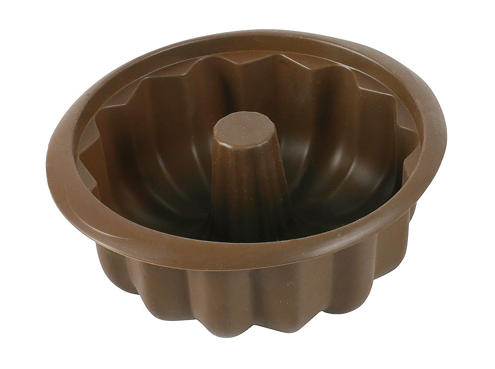 Forma na babkę silikonowa Delice Brown 20,6 cm AMBITION